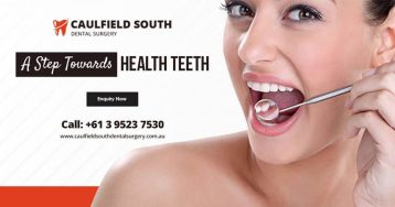 teeth whitening caulfield